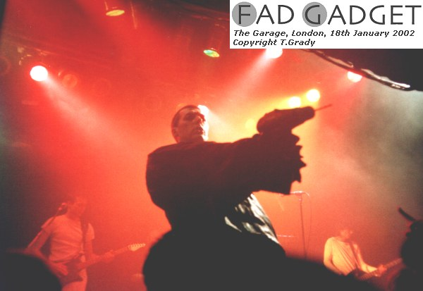 Fad Gadget The Garage London Film 2 Frame 21a