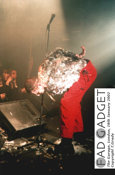 Fad Gadget The Garage London Film 3 Frame 35