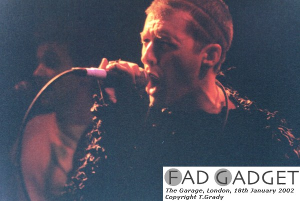 Fad Gadget The Garage London Film 3 Frame 9