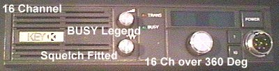 Key 16 channel Head